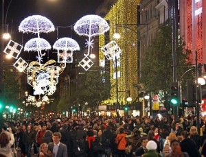 Christmas lights - Oxford Street LONDON